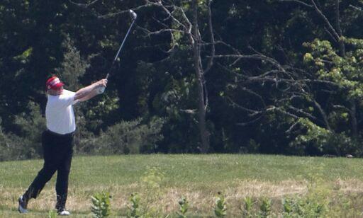image: Spiller golf: - USA uten president