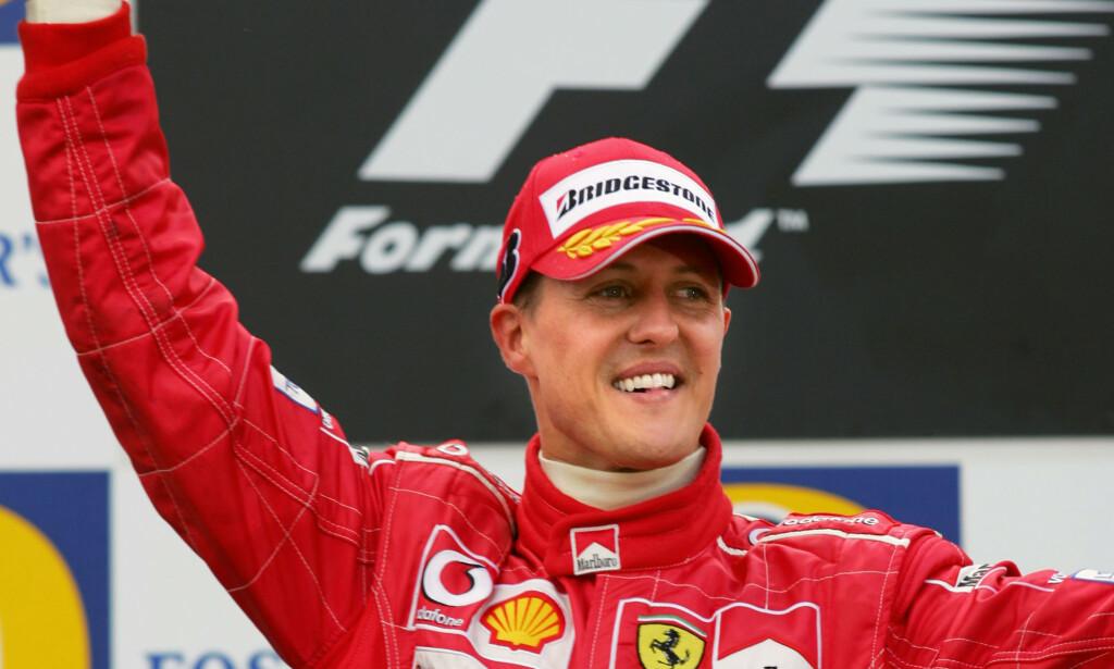 UKJENT TILSTAND: Michael Schumachers helsetilstand er fortsatt usikker. Foto: AFP PHOTO / DENIS CHARLET / NTB Scanpix