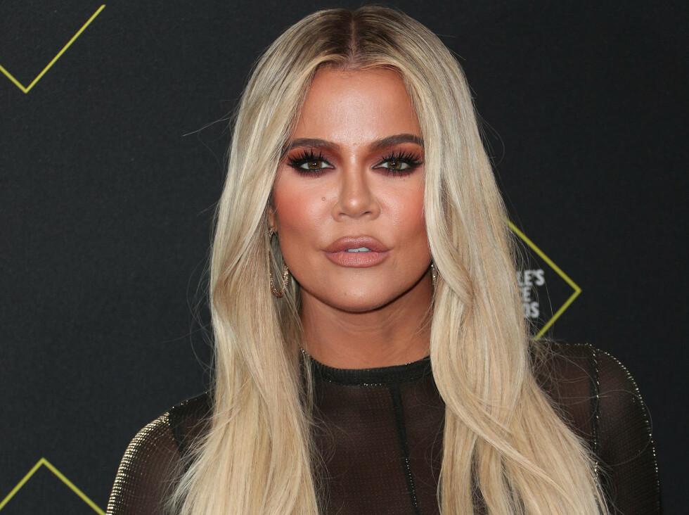 KJÆRLIGHETSERKLÆRING: I anledning Khloé Kardashians 36-årsdag lørdag delte ekskjæresten Tristan Thompson en kjærlighetserklæring på Instagram. Foto: NTB Scanpix