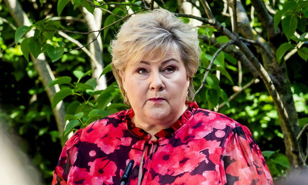 image: Solberg advarer etter festhelga