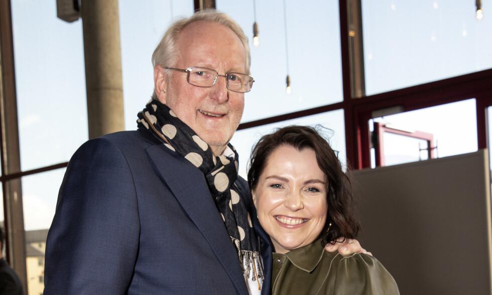 PAR I HJERTER: I 2018 ble det kjent at Eyvind Hellstrøm og Anita Rennan var et par. Nå forteller han om forholdet i en ny episode av podkasten «Truls & Hellstrøm». Foto: Tore Skaar / Se og Hør