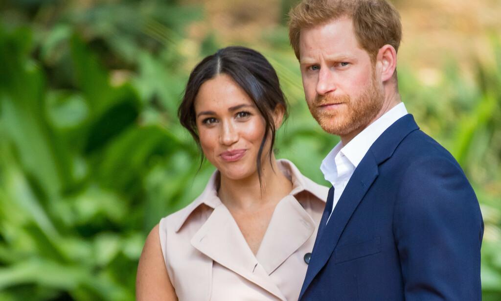 SAKSØKER: Prins Harry og hertuginne Meghan saksøker britiske tabloider. Foto: SplashNews.com