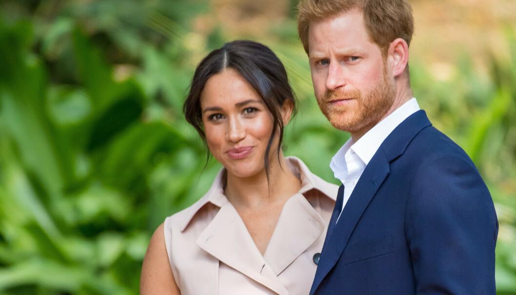 NYTT ARBEID: Prins Harry og hertuginne Meghan har signert med prestisjebyrået Harry Walker Agency, og skal tjene penger på å holde foredrag. Foto: NTB Scanpix