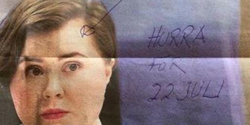 image: Sjokkert da hun åpnet postkassa