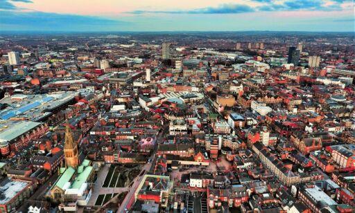 image: Smitteutbrudd i Leicester - byen stenger