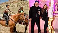 Kardashian-familiens elleville festhelg