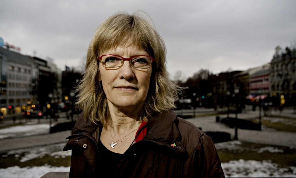 ASYLPOLITIKK: Karin Andersen (SV) går ut mot Høyres forslag om innstramminger i asyl- og innvandringspolitikken. Foto: Torbjørn Grønning / Dagbladet