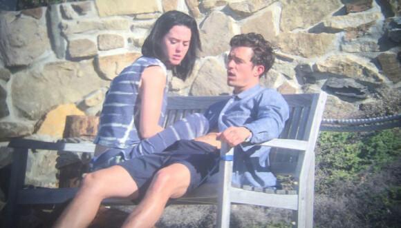 DEN GANG DA: Katy Perry og Orlando Bloom avbildet sammen i Malibu våren 2016, ikke lenge etter at de først møttes. Foto: Splash News/ NTB Scanpix
