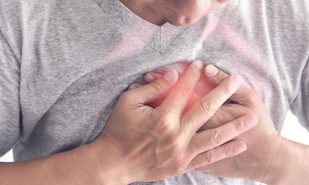 HJERTEFLIMMER: Over 100 000 nordmenn lever med hjerteflimmer i dag. Med enkle grep kan de halvere risikoen for tidlig død, ifølge en ny studie. Foto: Shutterstock / NTB Scanpix