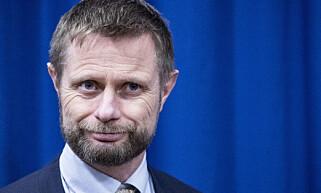 Helse- og omsorgsminister Bent Høie. Foto: Bjørn Langsem / Dagbladet