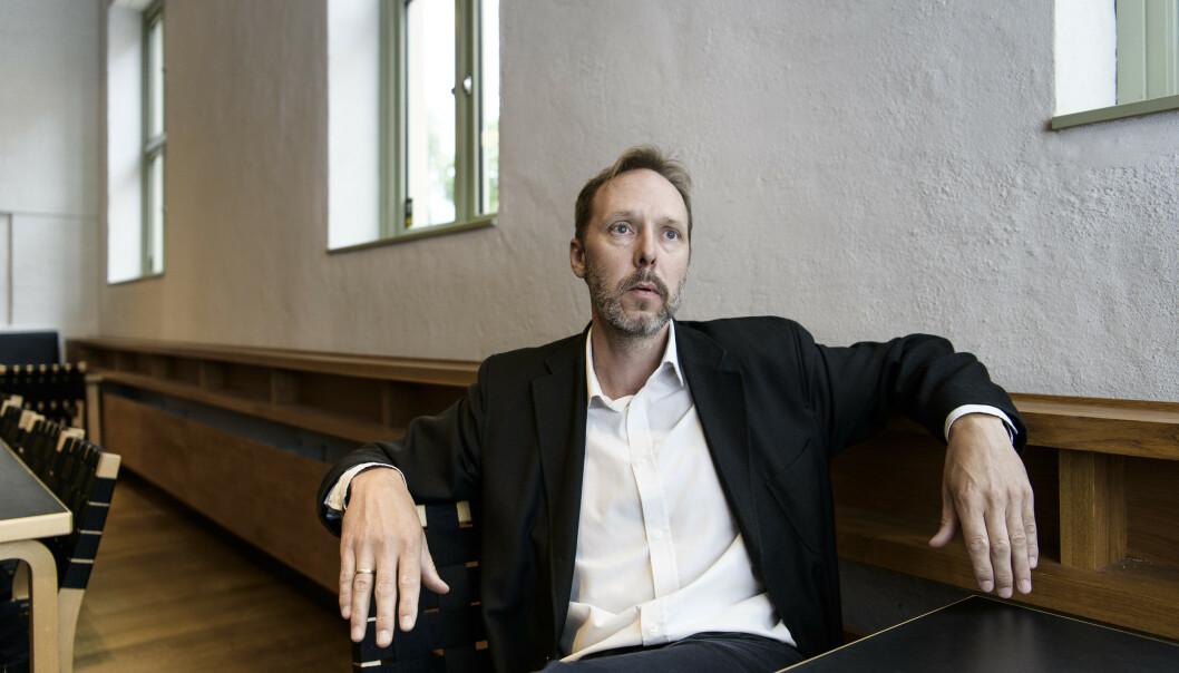 OM FAREN: Gaute Heivolls nye roman er basert på historien til forfatterens egen far. Foto: Lars Eivind Bones / Dagbladet