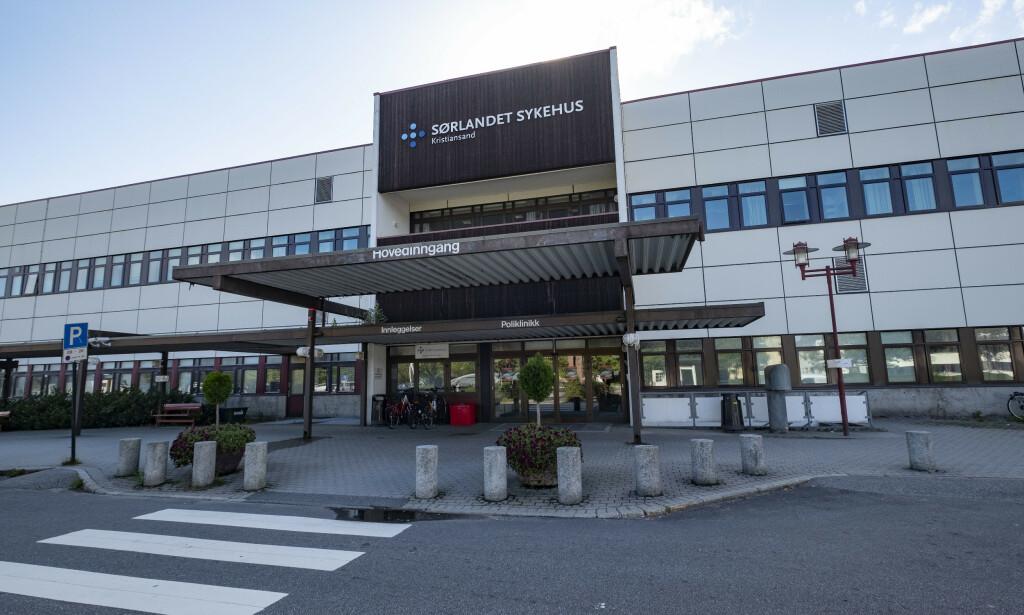 MANGE FRITATT: På Sørlandet sykehus er det mange vikarer fra utlandet som er fritatt fra karanteneplikten. Foto: Tor Erik Schrøder / NTB scanpix