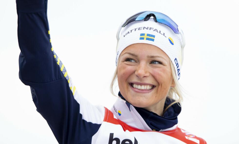 HEMMELIG: Frida Karlssons nye rekord holdes hemmelig. Foto: Fredrik Hagen / NTB scanpix