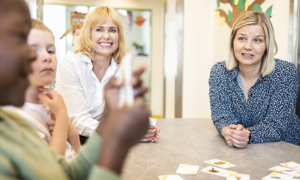 Bekymret: PBL-direktør Anne Lindboe og kunnskapsminister Guri Melby er bekymret over de mange barna som ennå ikke er tilbake. Foto: Hans Arne Vedlog