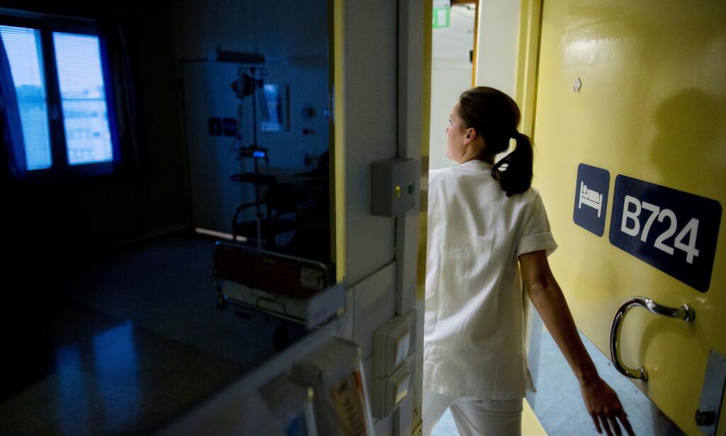 SÅRT TRENGT: Utenlandsk helsepersonell, spesielt fra Sverige, er svært nødvendige tilskudd på norske sykehus i ferieavviklingen. Foto: Tore Meek / NTB scanpix