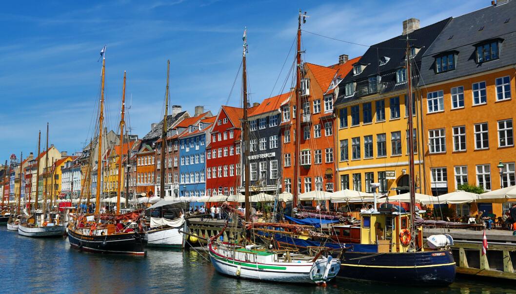 <strong>SNUR:</strong> Danske myndigheter vil ønske nordmenn velkommen - uten forbehold om seks overnattinger. Nyhavn. Foto: NTB Scanpix