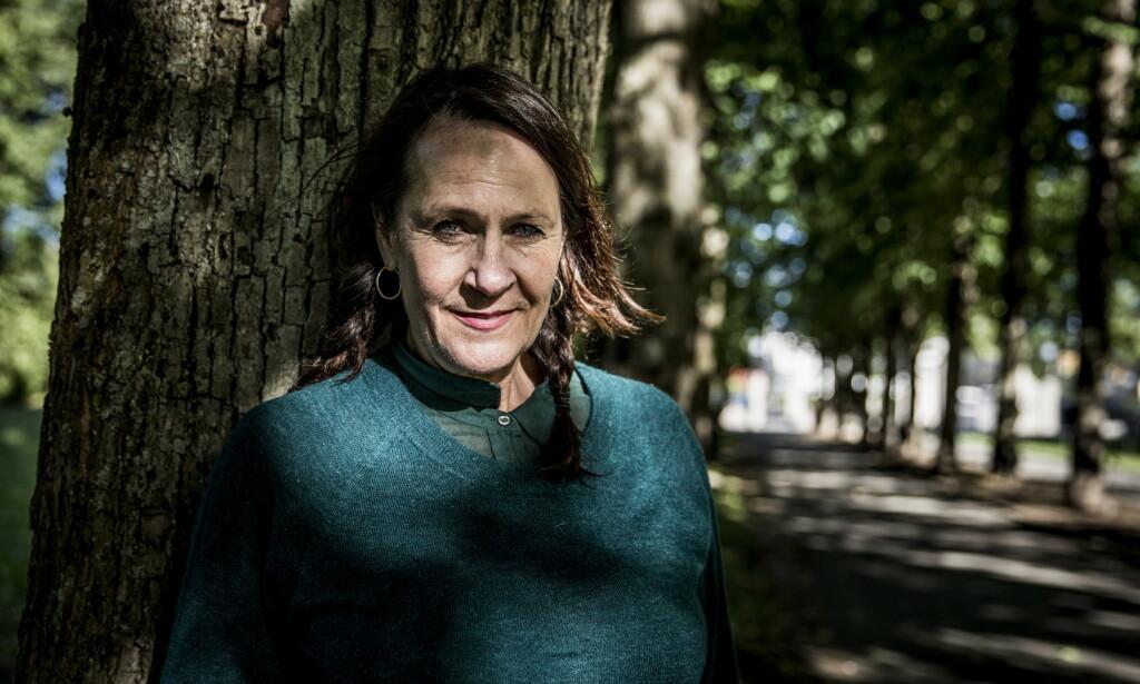 I SORG: Forfatter Vigdis Hjorth forteller at hun er i sorg etter at det ble kjent at forfatter Beate Grimsrud har gått bort. Foto: Christian Roth Christensen / Dagbladet