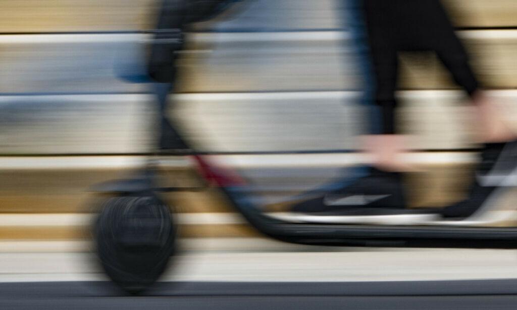 image: Full sparkesykkel-krangel: Fjerner syklene