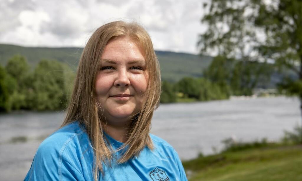 NY HVERDAG: Camilla Graversgaard (31) har omfavnet en ny hverdag med trening. Foto: Lars Eivind Bones