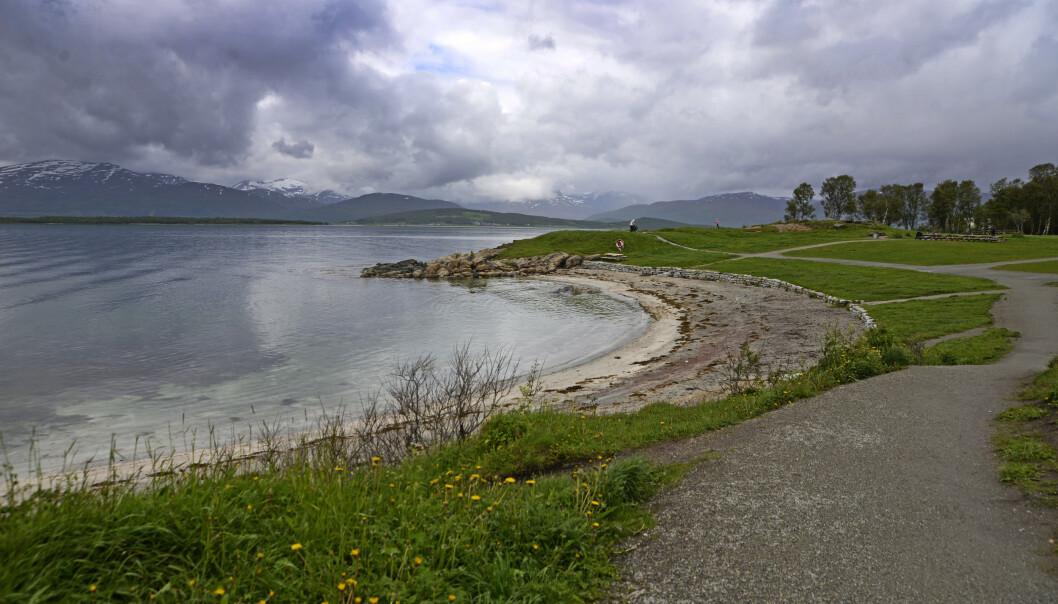 Overskyet i Telegrafbukta i Tromsø. Illustrasjonsfoto: Rune Stoltz Bertinussen / NTB scanpix