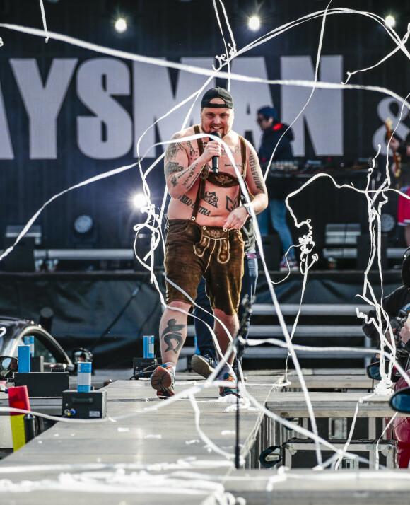 - MERKER DET GODT: Staysman sier at han spesielt på scenen merker vektnedgangen godt. Her er han i Lillestrøm tidligere i år, på en drive-in-konsert. Foto: Lise Åserud / NTB scanpix