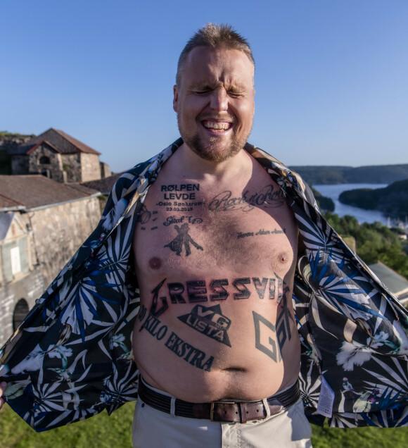 SYNLIG: 38-åringen er ikke fremmed for å la magen være synlig, og da den brått hadde blitt mindre, var det flere som la merke til endringen. Foto: Lars Eivind Bones / Dagbladet
