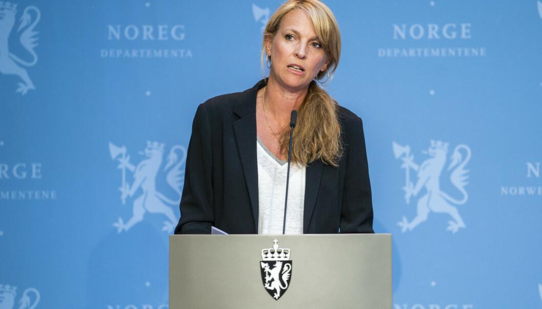 YTELSE: Line Vold og Folkehelseinstituttet mener man bør vurdere å åpne for at sexarbeidere kan få ytelser gjennom Nav. Foto: Håkon Mosvold Larsen / NTB scanpix
