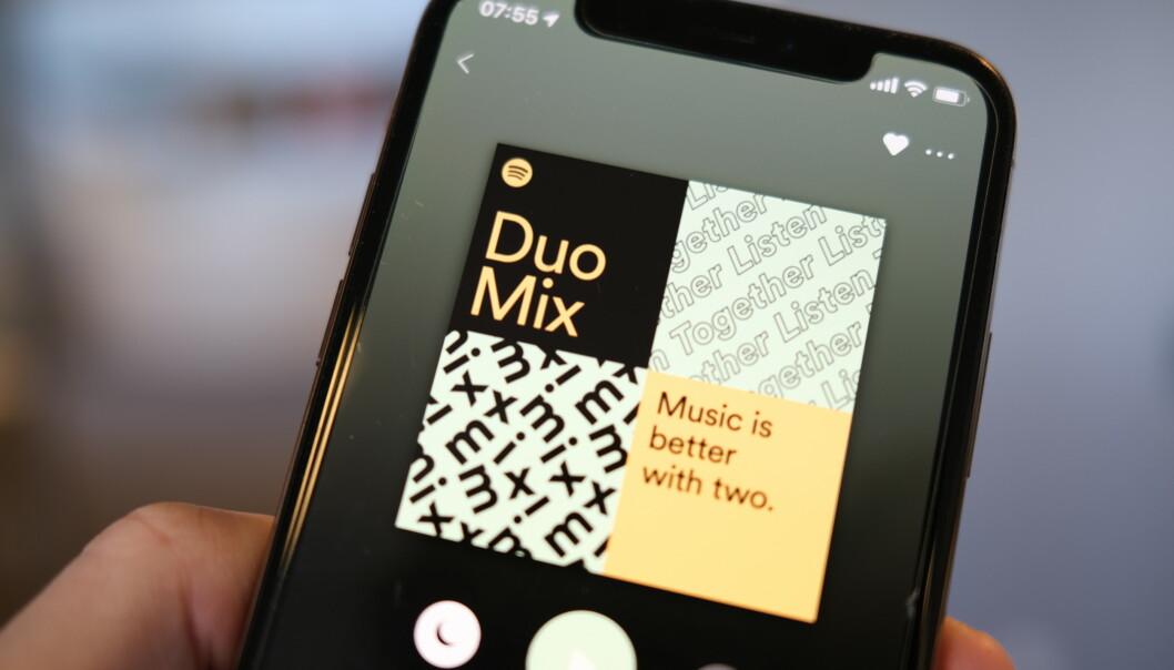 <strong>PREMIUM DUO:</strong> Spotify introduserer et nytt abonnement. Foto: Martin Kynningsrud Størbu