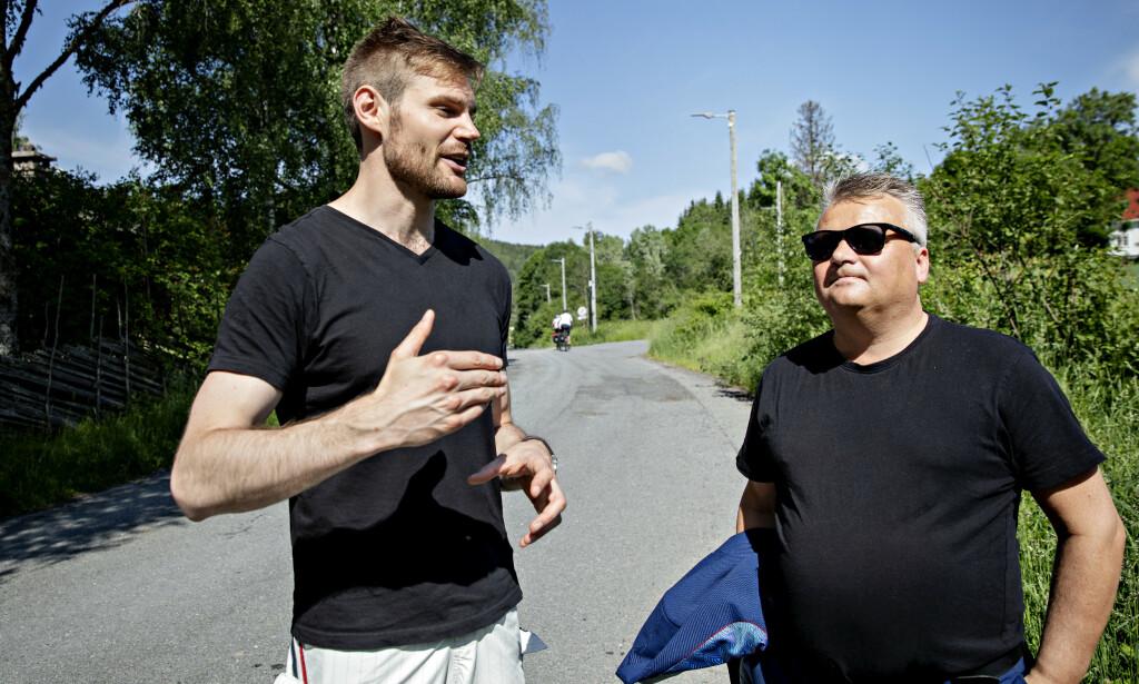 - NOE FEIL: Nils Kristen Sandtrøen (Ap) og Jørn Eggum mener noe må gjøres med lønningene i jordbruket. Foto: Nina Hansen