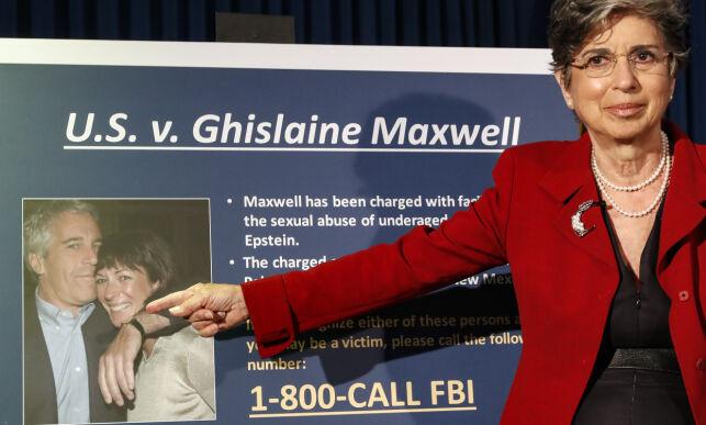 image: Epsteins tidligere partner pågrepet