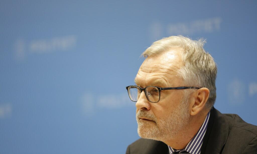 RAPPORT: PST-sjef Hans Sverre Sjøvold under en pressekonferanse i forbindelse med en evalueringsrapport etter hendelsen i Al-Noor moskeen 10. august 2019. Foto: Geir Olsen / NTB scanpix