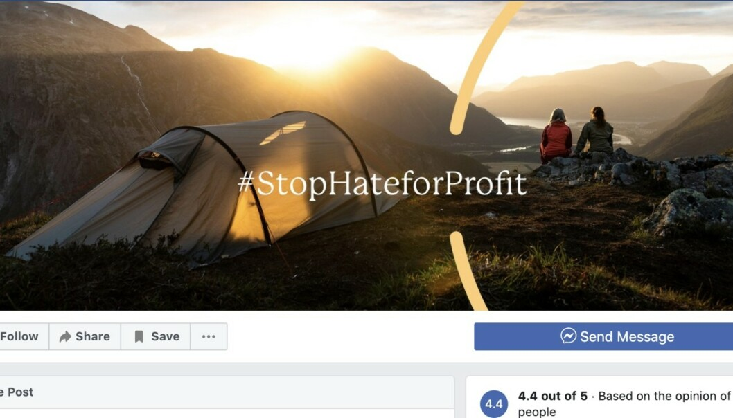 Stanser all Facebook-annonsering