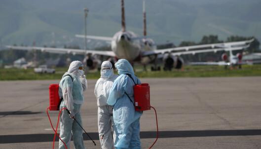 Testsentre kommer til flyplasser
