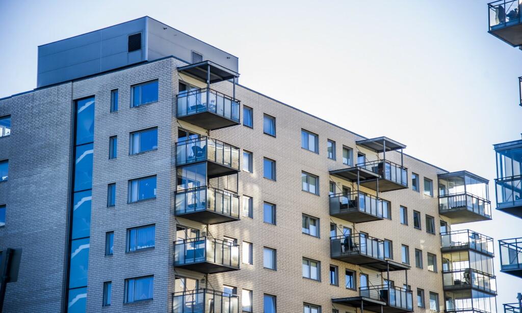 STERK VEKST: Boligprisene steg med 0,8 prosent i juni. Korrigert for sesongvariasjoner var oppgangen 1 prosent.  Foto: Andreas Lekang