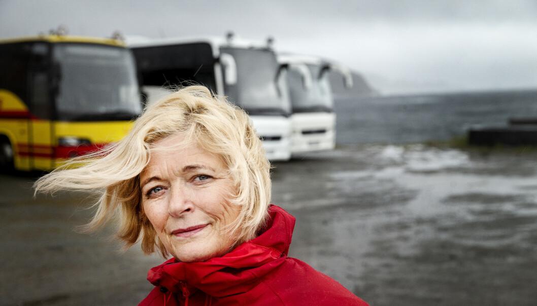 <strong>CORONA-ÅR:</strong> - 2020 har blitt en katastrofe for turistnæringa i Nord-Norge, sier Kjellbjørg Mathiesen som leder Arctic Guide Service. Foto: Henning Lillegård / Dagbladet