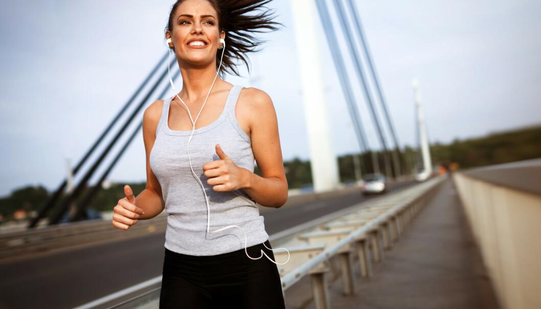 SKYLDES IKKE LATSKAP: Det er andre personlighetstrekk som er mer avgjørende for hvor ofte du trener. FOTO: NTB Scanpix
