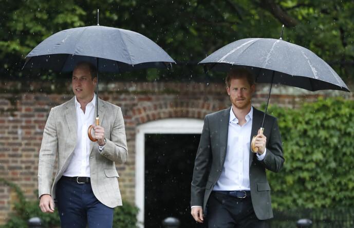 ANSTRENGT?: Ifølge opplysninger i en ny bok skal prins William ha vært irritert over brorens pengebruk i forbindelse med bryllupet hans i mai 2018. Foto: NTB Scanpix