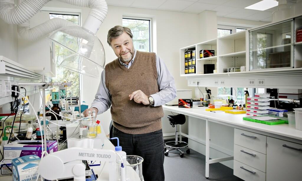 POSITIV: Medisinsk fagdirektør Steinar Madsen i Legemiddelverket ser positivt på resultatene Remdesivir har gitt. Foto: NIna Hansen / Dagbladet