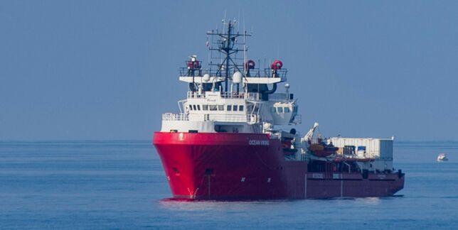 image: Nødssituasjon på «Ocean Viking»
