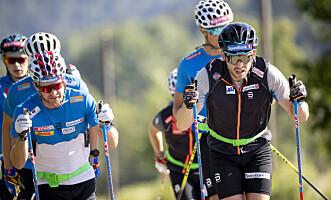 <strong>NY MENTOR:</strong> Sjur Røthe pekes ut som ny mentor på allroundlaget av Pål Golberg, som for øvrig er en del av sprintlaget. Foto: Geir Olsen / NTB scanpix