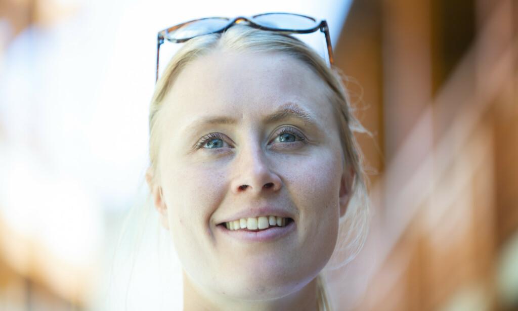 STOLT: Ragnhild Haga er stolt over hvordan hun har taklet den tøffe tiden etter at hun ble dobbel OL-mester for to år siden. Foto: Berit Roald / NTB scanpix