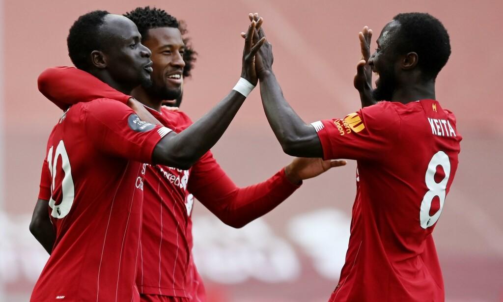 VANT: Liverpool slo tilbake mot Aston Villa. Foto: Shaun Botterill / Pool via REUTERS
