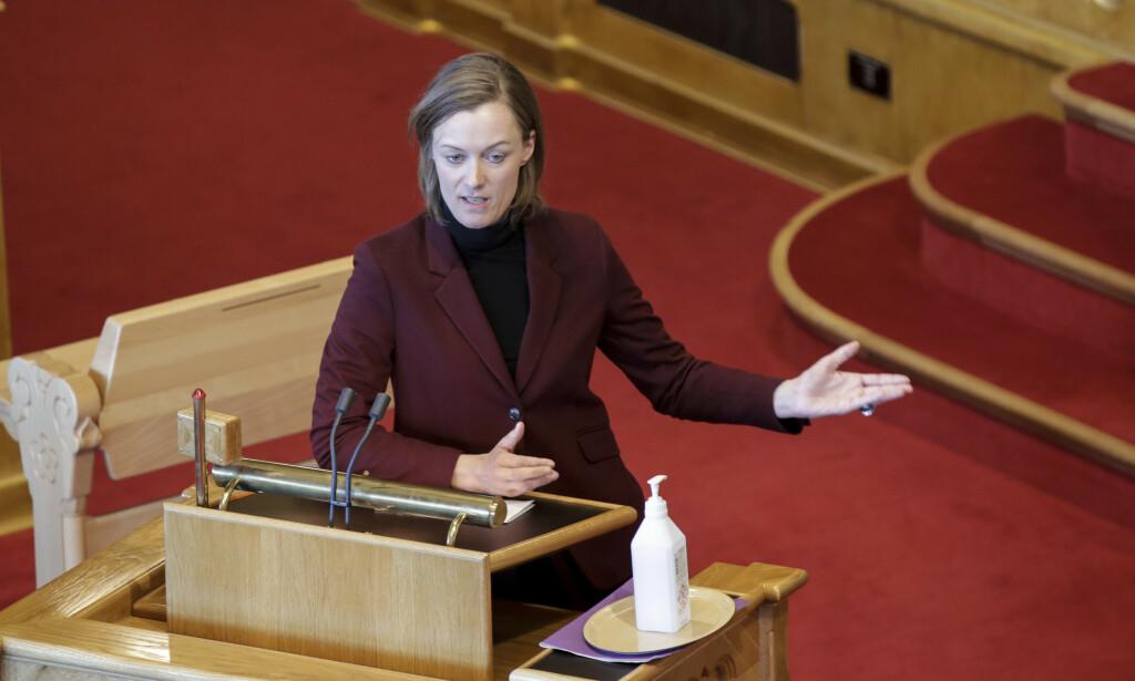 FORBUD: Anette Trettebergstuen (Ap) har stilt et skriftlig spørsmål om utredningen av homoterapiforbud. Foto: Vidar Ruud / NTB Scanpix