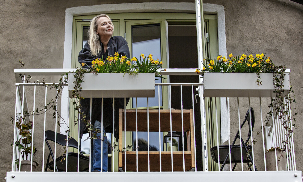 SOMMER: Linn Skåber mimrer tilbake til sommerne i Vestby, og er stolt av og ha blitt en skikkelig badejente. Foto: Jørn H Moen / Dagbladet