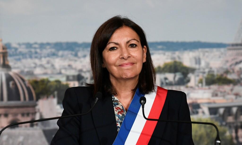 SJEF: Anne Hidalgo er borgermester i Paris og grønn sosialist. Foto AFP / NTB Scanpix