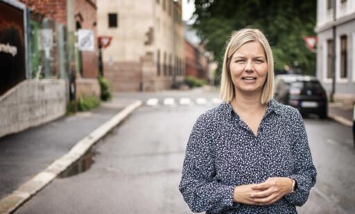 MER AVGIFTER: Guri Melby (V) mener løsningen er mer avgifter i kombinasjon med skatteletter. Foto: Hans Arne Vedlog