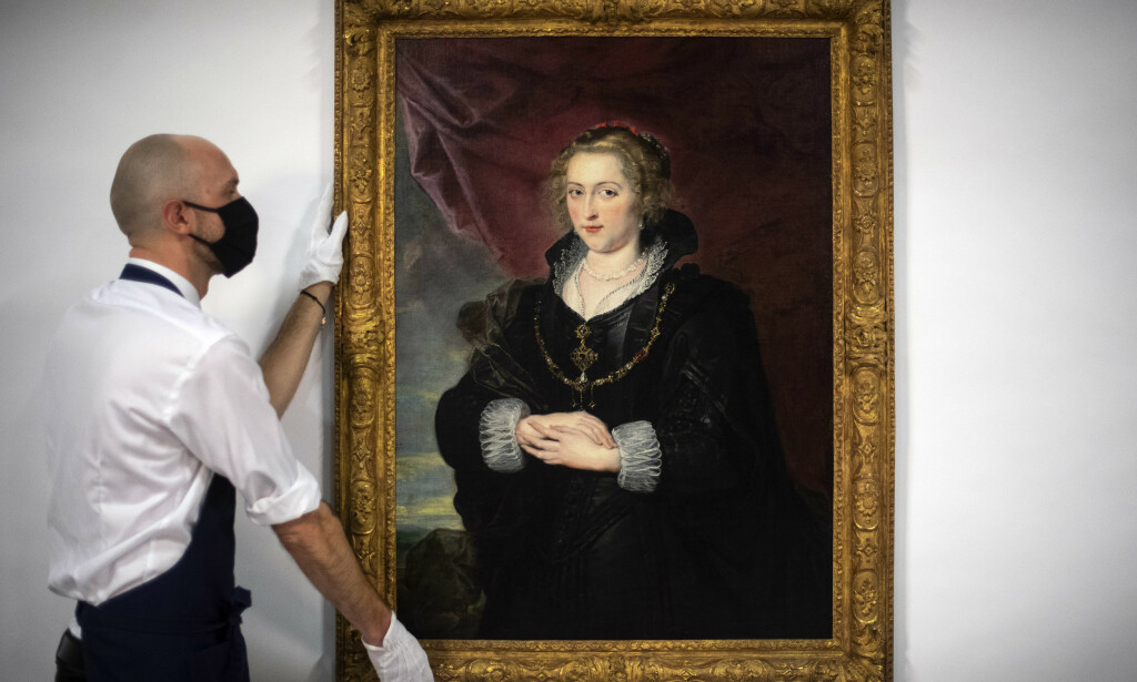RESTAURERT: I 2017 tok kjøperen over et «støvete og gammelt» maleri fra en familiesamling for rundt en million kroner. Personen slo til fordi han mistenkte at det var et Rubens-maleri. Foto: NTB Scanpix