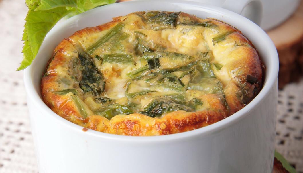 Skal det være en grønn omelett i kopp - med skvallerkål? Foto: Shutterstock/NTB Scanpix