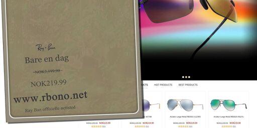 image: Se opp for solbrillesvindlere