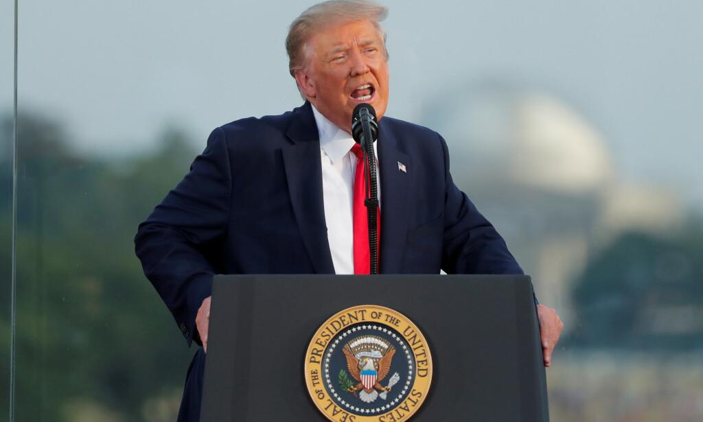 ANTALL STEMMER KAN AVGJØRE: Nå kan presidentkandidaten med flest stemmer vinne i USAs delstater, ifølge høyesterett. Foto: Carlos Barria / Reuters / NTB Scanpix